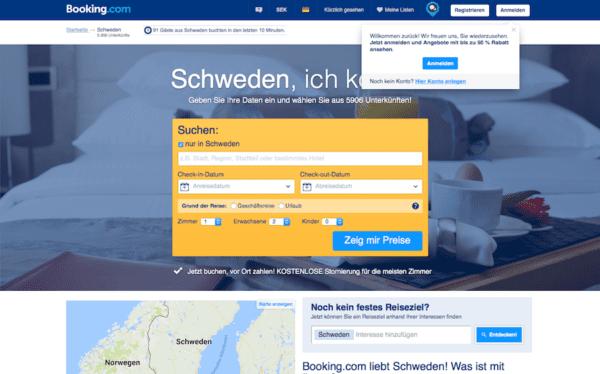 Hotel in Schweden buchen booking
