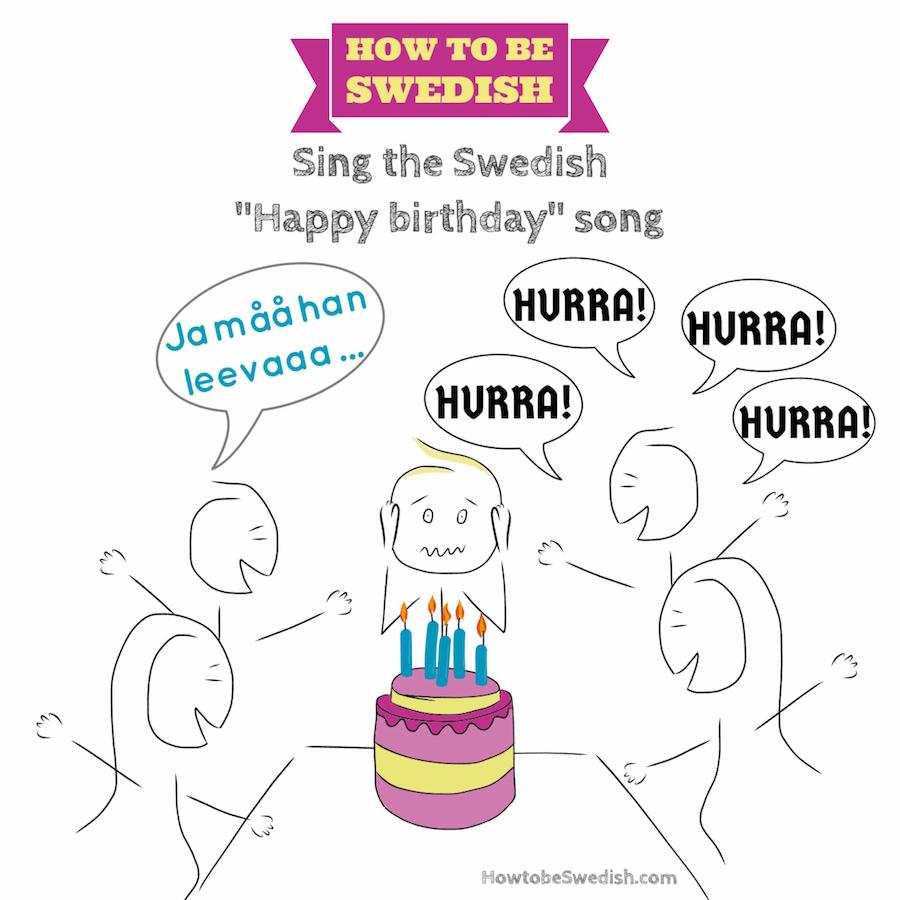 Happy Birthday In Icelandic Pronunciation