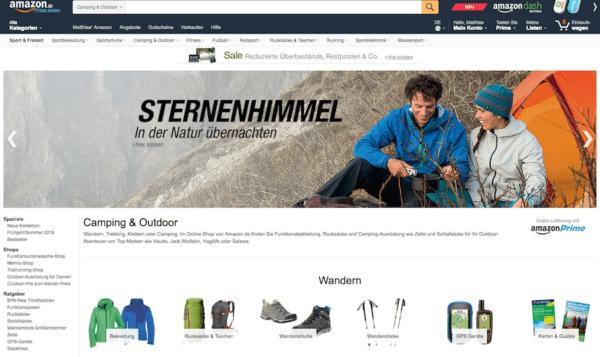 Amazon Outdoor Shop