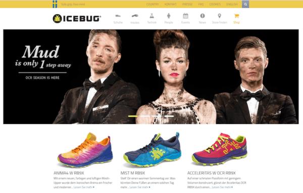 Icebug - Schwedische Outdoor Marken