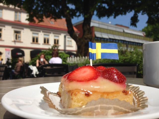 Swedish flag - National day in Sweden