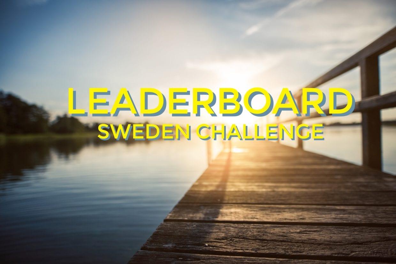 Sweden Challenge Leaderboard