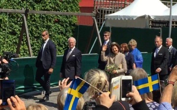 National Day of Sweden Celebrations - King of Sweden in Växjö