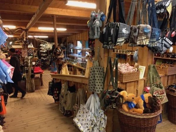 Elch-Shop Grönåsen Elchpark Småland Südschweden