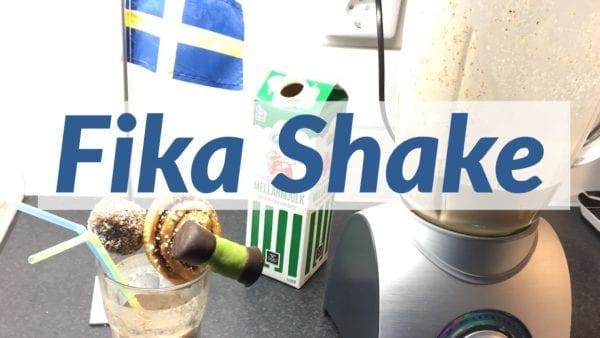 Schwedisches Fika Shake Rezept