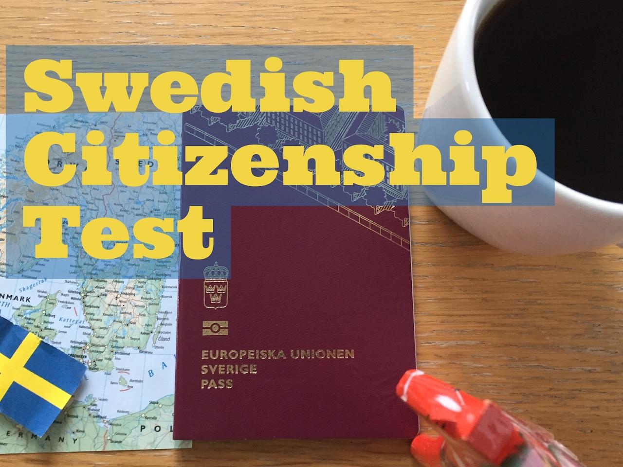 Swedish citizenship test