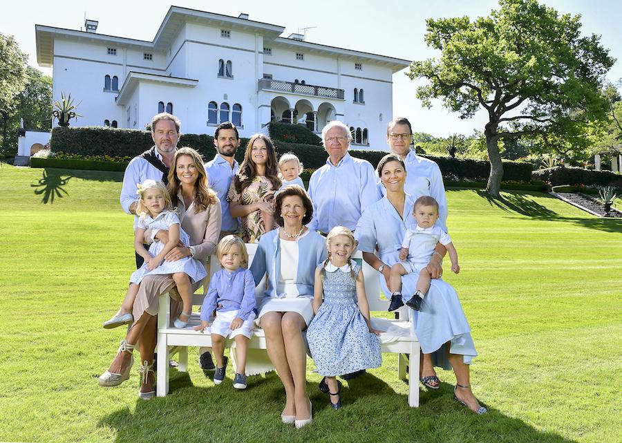 Swedish Royal Family - All Members - Meet the Bernadottes - Hej Sweden