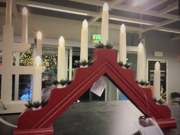 Ljusstake aus Schweden