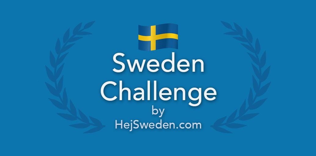 Sweden Challenge by Hej Sweden logo