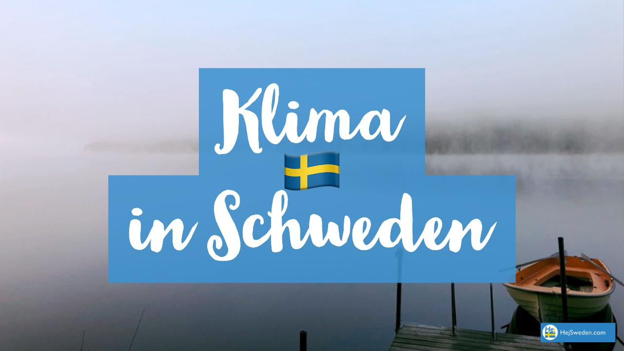 Klima in Schweden
