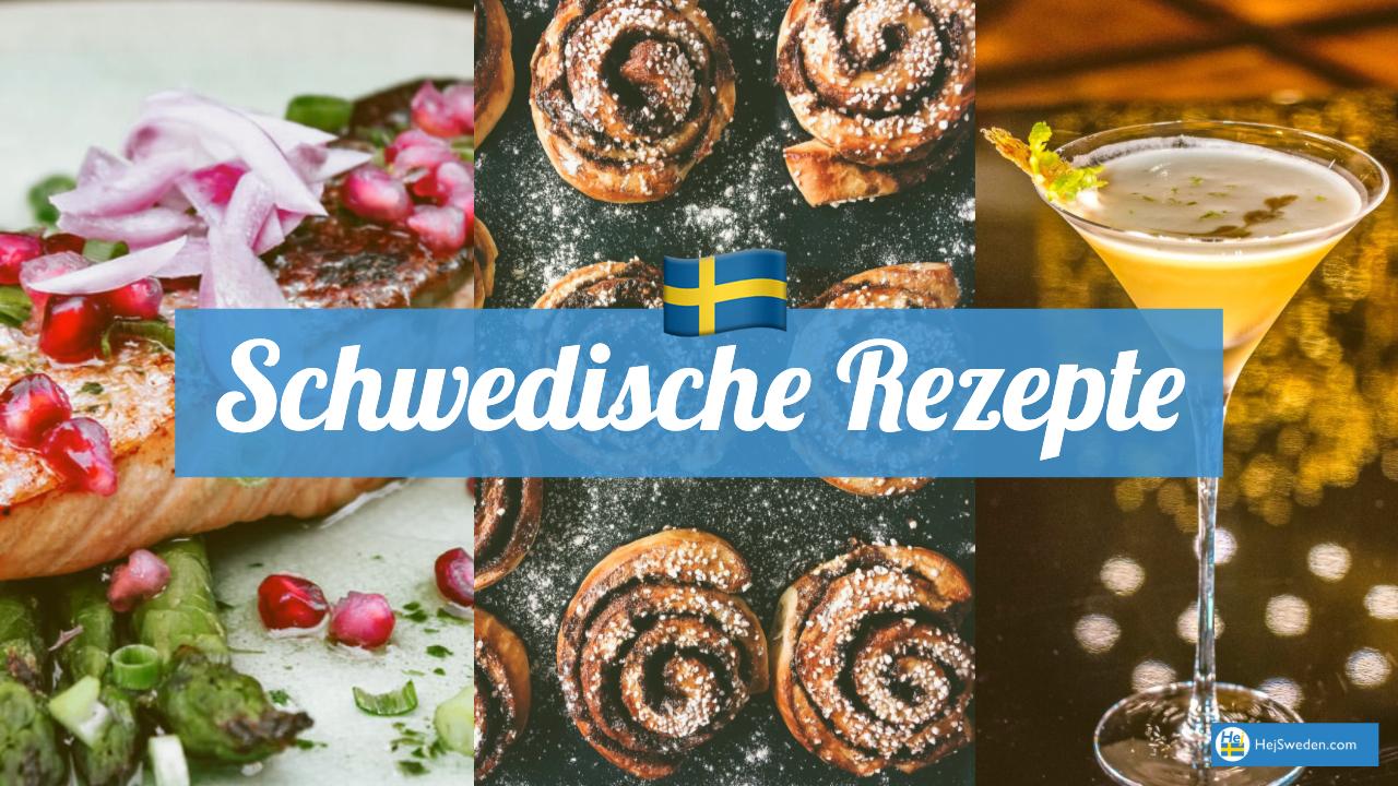 Rezepte für schwedisches Essen und Trinken